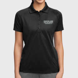 Phantom Mom Dri-Mesh Polo